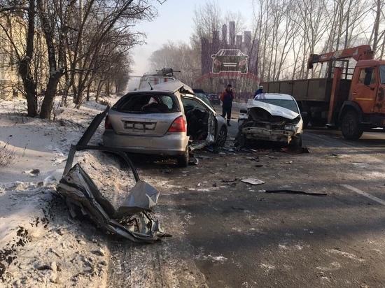 Водитель «Хонды» погиб в ДТП на Семафорной