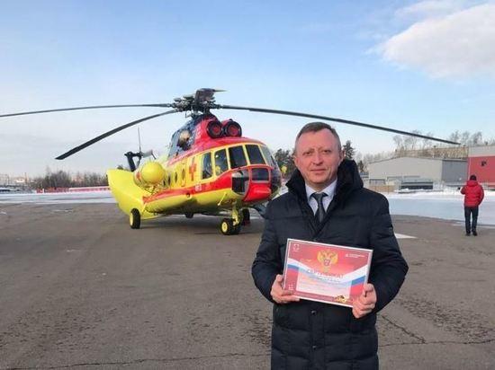 Новосибирская область среди первых получит новый санитарный вертолет