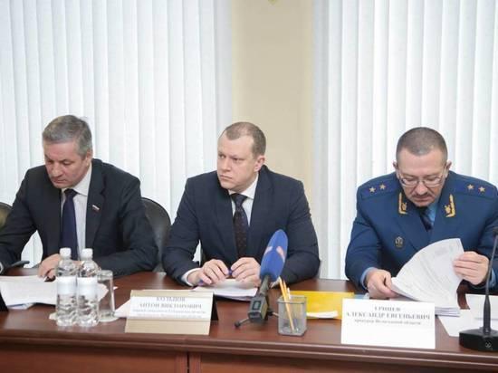 Антон Кольцов принял участие в расширенном заседании коллегии прокуратуры Вологодской области