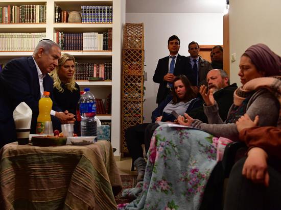 Премьер-министр Биньямин Нетаниягу навестил родственников Ори Ансбахер