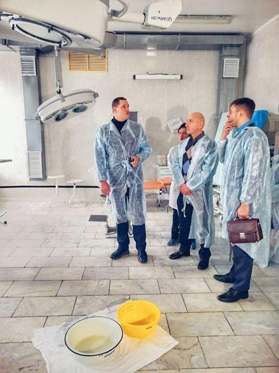 Подрядчик повторно отремонтирует кровлю в липецкой больнице №4