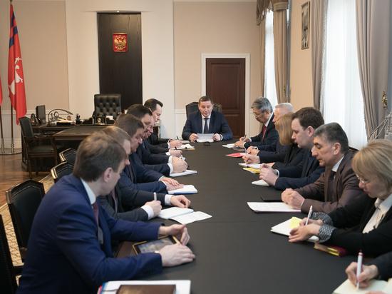 Андрей Бочаров сверил ход реализации приоритетных нацпроектов