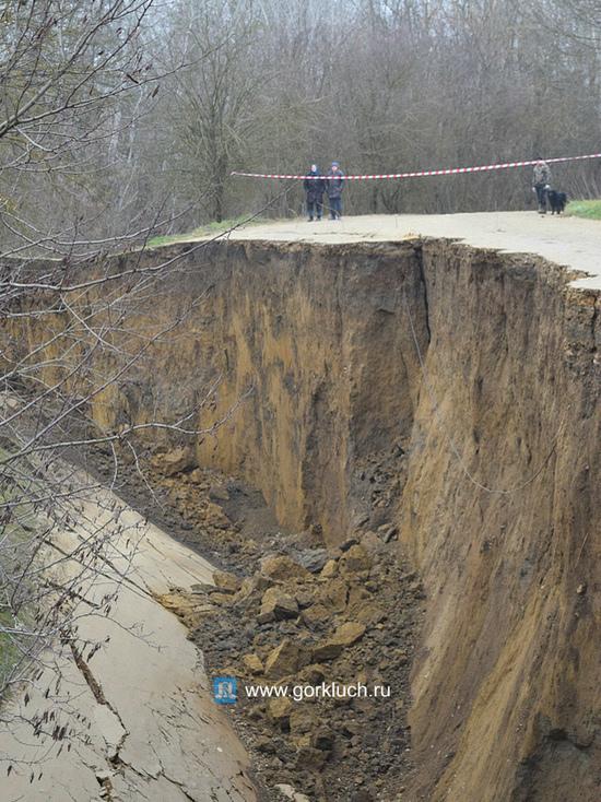 В Горячем ключе закончились материалы для строительства объезда обвалившейся дороги