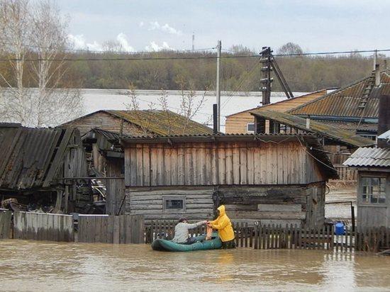 В период весеннего половодья пострадать от большой воды может треть всех районов Алтайского края