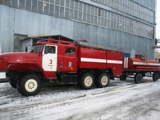 В столице Ямала в субботу произошел пожар в двухэтажке