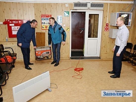 В Тазовском районе накануне довыборов депутатов проводят тренировки