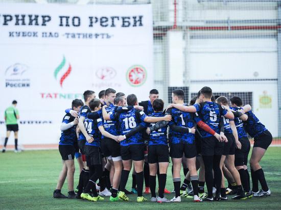 Калининградские регбисты победили в Казани