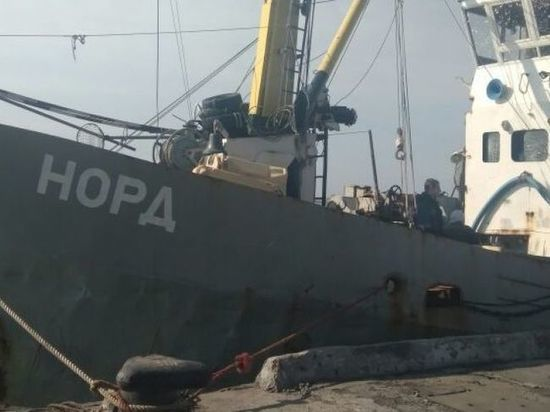 Украинские пограничники не выпускали капитана