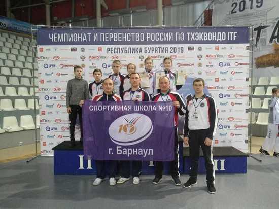 Четверо алтайских спортсменов прошли отбор на Чемпионат Европы по тхэкводно ИТФ
