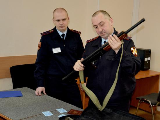 Росгвардия рассказала об организации учета гражданского оружия в Москве