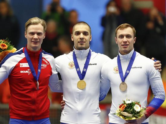 Сборная России завоевала 11 медалей на ЧМ по конькобежному спорту