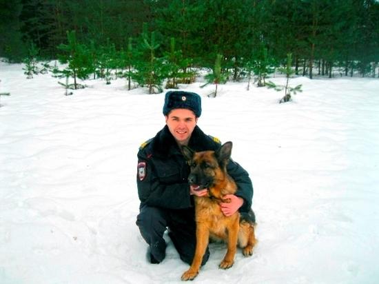 Служебные собаки – помощники смоленских полицейских