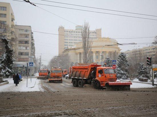 Утром во вторник Волгоград встал в пятибалльных пробках