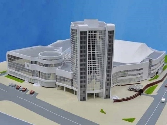 Медведев выделил на Дворец спорта в Калуге более 1,8 млрд рублей