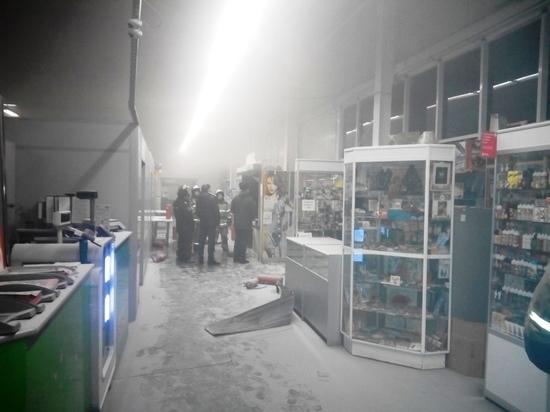 В ТЦ «Эссен» в Чистополе произошел пожар