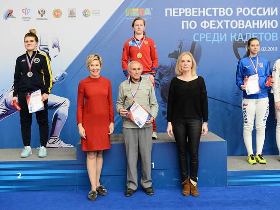 Пятигорская рапиристка выиграла первенство России