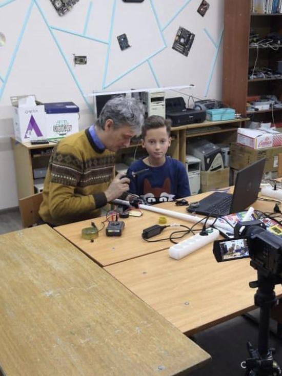 В Железноводске ребенок изобрел инновационную трость для незрячих