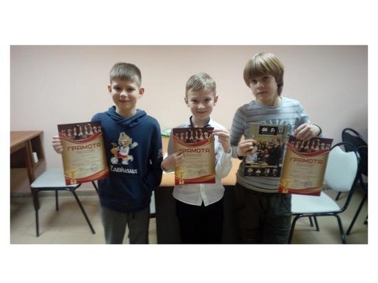В Серпухове юные шахматисты поучаствовали в блиц-турнире