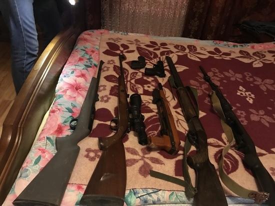 В Псковской области у владельцев изъяли 17 единиц гражданского оружия