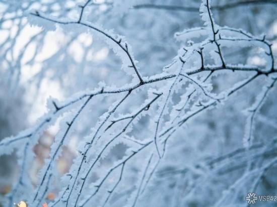 Необычные снежинки заметили жители Кемерова