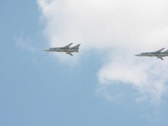 В Волгоградской области летчики уничтожили объекты условного противника
