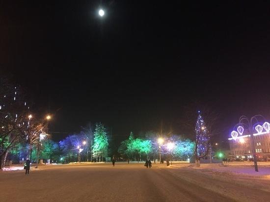 Новогоднюю иллюминацию обновят в этом году в Вологде