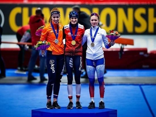 Нижегородские конькобежки завоевали бронзовые медали на Чемпионате мира