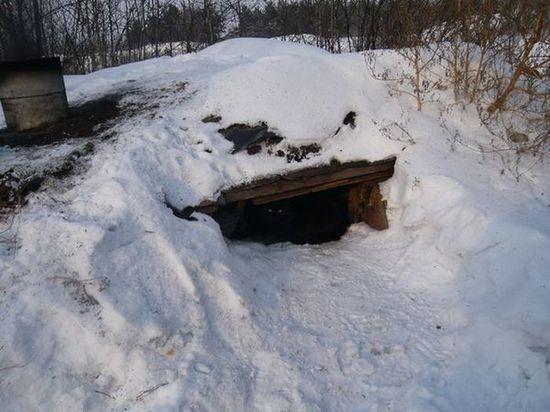 В Петрозаводске нашли мужчину, который 18 лет жил в землянке