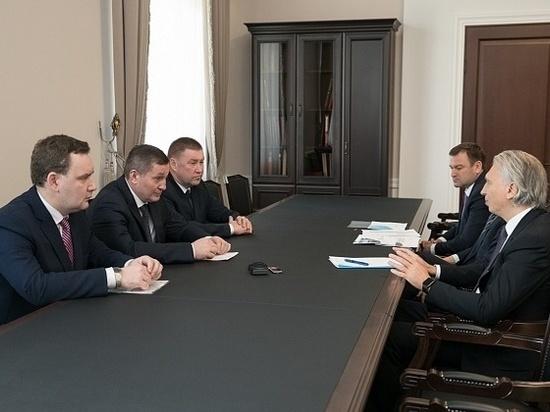 Андрей Бочаров встретился с кандидатом в президенты РФС Александром Дюковым