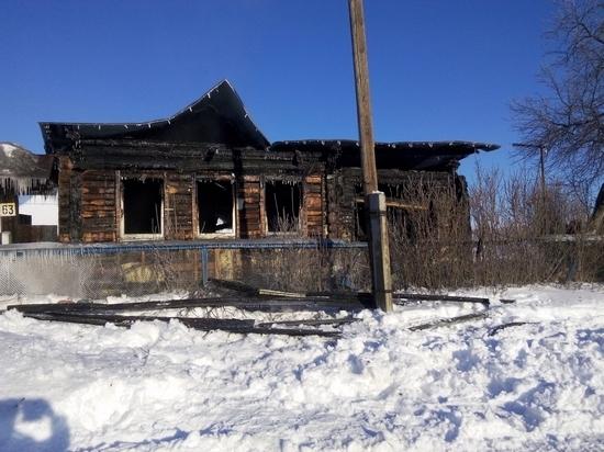 В Свердловской области при пожаре погиб ребенок