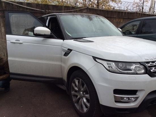 Калужанин угнал Range Rover за 3 млн
