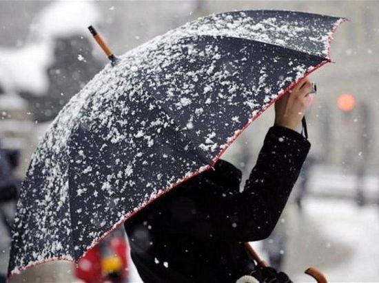 В Тамбове ожидается мокрый снег с дождем