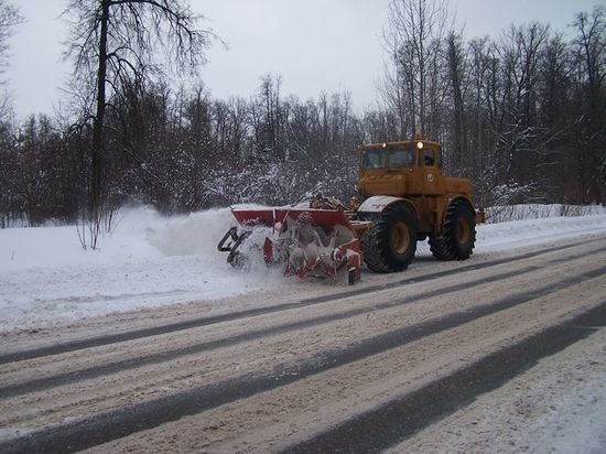 В Чувашии четырех подрядчиков оштрафовали за заснеженные дороги