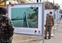В Симферополе открыли выставку, посвященную Героям России