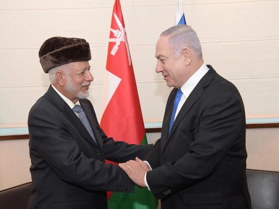 Премьер-министр Биньямин Нетаниягу встретился с министром иностранных дел Омана