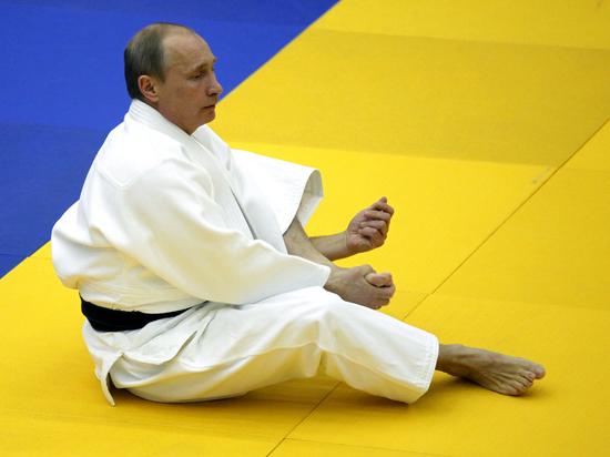 Песков анонсировал выход Путина на татами после всех встреч