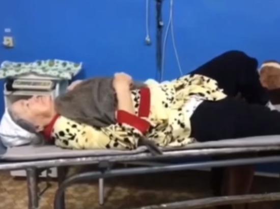 В Башкирии врачи примотали к сломанной ноге пенсионерки больничную швабру