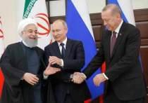 Путин, Эрдоган и Рухани провели трудные переговоры по Сирии