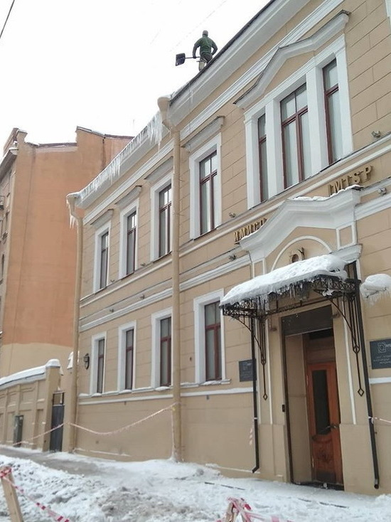 Смерть и сверху, и снизу: как Петербург пережил снежный апокалипсис