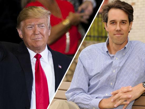 Выборах 2020: Дональд Трамп и Бето О'Рорк вышли на старт