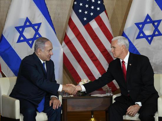 Биньямин Нетаниягу встретился  с вице-президентом США Майком Пенсом