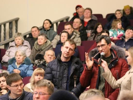 Дмитрий Жариков встретился  с жителями деревни Станково  и поселка Пролетарский