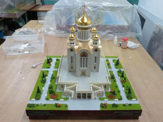 Градсовет Барнаула раскритиковал проект кафедрального собора, который уменьшился до размера церкви