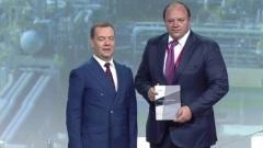 Дмитрий Медведев наградил гендиректора «ФосАгро» Андрея Гурьева