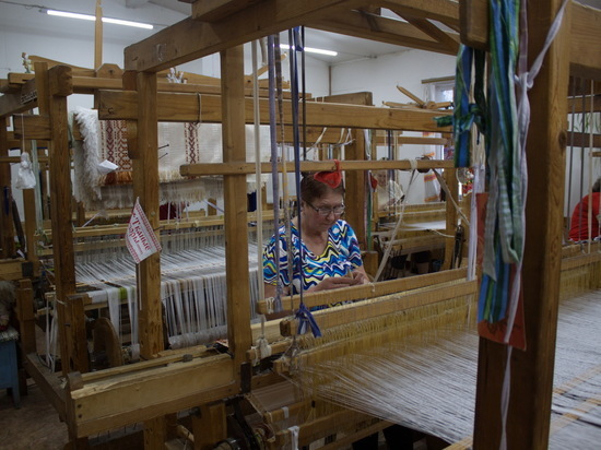 Единственная в России строчевышивальная фабрика работает в Шахунье