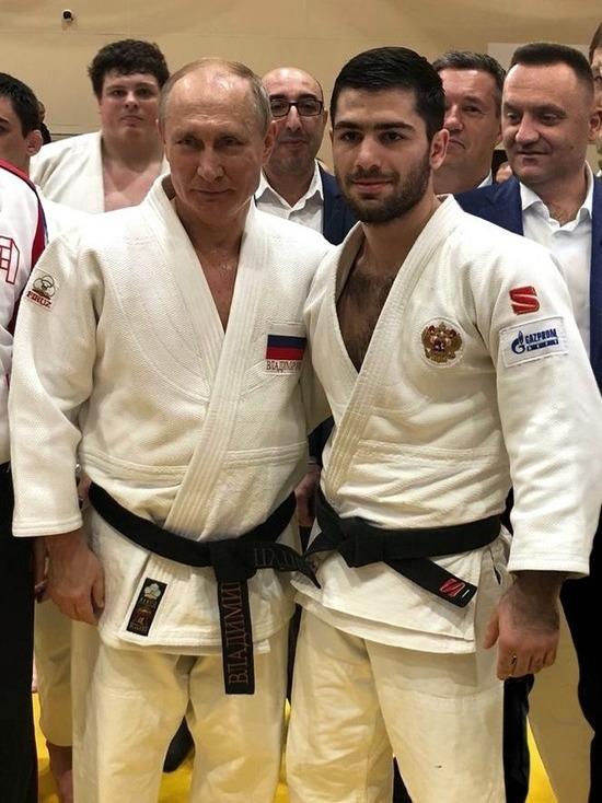 Ставропольский дзюдоист принял участие в тренировке с Путиным