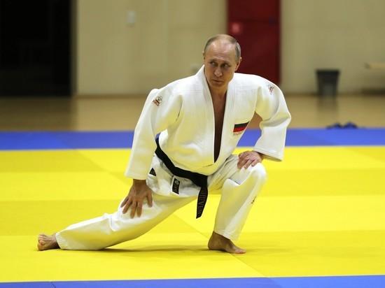 """""""Не девочка"""": Путин рассказал о травме на тренировке по дзюдо"""