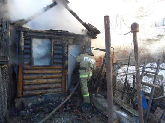 Пожар в Ивановском районе потушили за три минуты