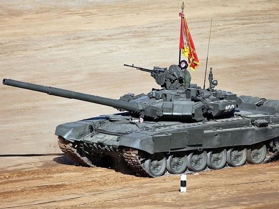 Опубликовано видео испытаний новейшего танка Т-90МС