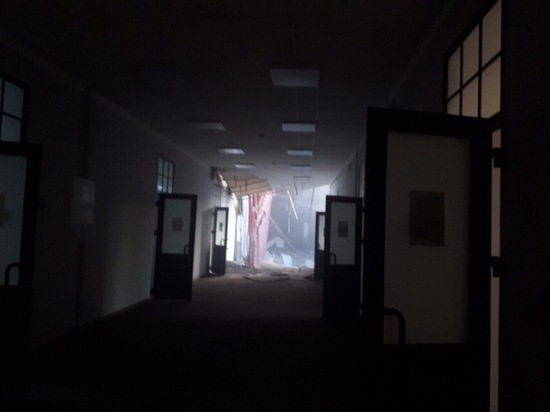 Крыша университета ИТМО обрушилась